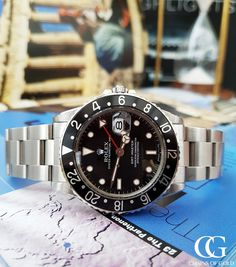 Stunning Vintage Rolex GMT Master 16750 from 1984 Used Rolex, Thing 1, Rolex Gmt Master, Vintage Rolex, Watches Online, Rolex Watches, Stuff To Buy