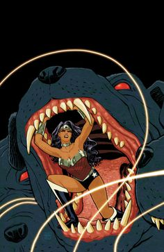 Since the new52 I really love Wonder Woman. It has almost become a Vertigo series and that's a compliment. #new52