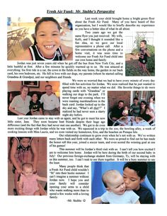 """""""Fresh Air Fund: Mr. Stubbe's Perspective."""" Jason Stubbe, a Fresh Air host and teacher in the Pennsylvania area, wrote about his family's experience hosting Jordan for the second time last summer for his school's May newsletter (in addition to sending the students home with a 'bright green flyer about The Fresh Air Fund). Jason and his wife Kelli can't wait for Jordan's visit this summer!"""