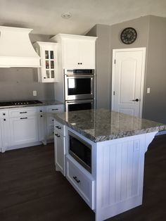 Consider Installing Kitchen Islands To Go With Your Unique Kitchen Design – Home Dcorz Kitchen Island Microwave, Narrow Kitchen Island, Kitchen Island Storage, Kitchen Island With Seating, White Kitchen Cabinets, Kitchen Islands, Microwave Cabinet, Microwave Storage, Soapstone Kitchen