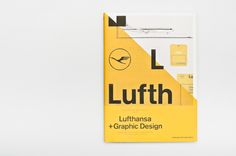 A5/05: Lufthansa + Graphic Design by Patrick Mariathasan, via Behance