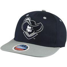 Xavier Musketeers Mascot 2 Snapback Hat - Navy Blue Gray. Team Sports Trends 5c5b703efbaa