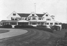 Kennedy Compound in Barnstable, Massachusetts. (home of the Kennedy family; Hyannis Port).