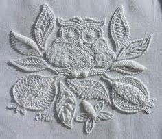 @Caitlin Burton Burton Douglas irish stitched owl.