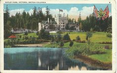 The postcard came from Canada  Hatley Park