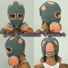 Crochet Rose Gas mask Plastic Bag Crochet, Crochet Mat, Wire Crochet, Crochet Needles, Thread Crochet, Crochet Bracelet Pattern, Crochet Patterns, Crochet Ideas, Crochet Projects