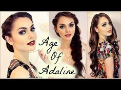 Blake Lively Hair From The Age Of Adaline! Easy Elegance   Jackie Wyers - YouTube