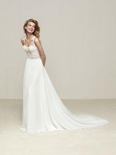 Robe de mariée dos fantaisie - Drenube