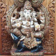 Here is our #Ganesha to bring wisdom to your day and remove any obstacles on your beautiful life path. .  #JalanJalanImports #OwlFalls #TopangaCanyon :: remember to #shoplocal :: . ∞ #happy #love #malibu #la #namaste #losangeles #meditation #meditate #waterfall #buylocal #create #zen #om #jalanjalan #handcarved #statue #designerdiscount #design #style #interiordesign #nature #beauty #buddha #imports #bali ∞