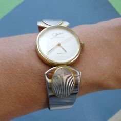 Sabrina Beverly Hills gold and silver watch
