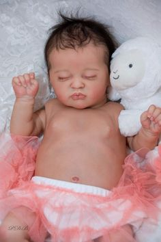 New Release Reborn Doll Baby Girl Kami~Rose by Laura Lee Eagles #Unbranded