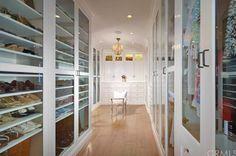 Wow! Luxurious closet!
