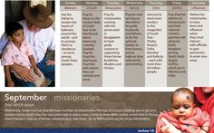 #Pray for #missionaries this September...