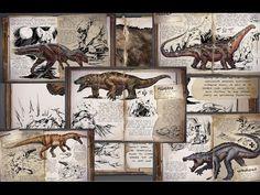 Ark: Survival Evolved - Todos los dinosaurios - YouTube