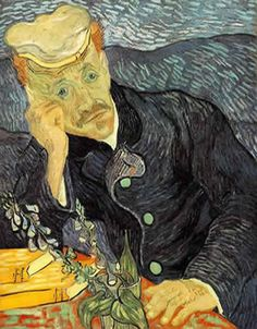 "Vincent van Gogh  ""Portrait of Doctor Gachet"", 1890  oil on canvas, 68 x 57 cm. Private collection  The story about this famous and brilliant work resumes by itself the ""Japanese buyer boom"" of the late 80s and early 90s. The whereabouts of the painting are now unknown. Some sources places it in Europe, waiting for its return to the Art market $120-160 million"