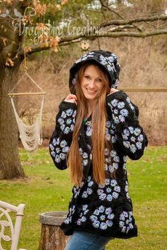 You will love these Crochet Hooded Jacket Free Pattern Ideas and we have rounded up all the most popular for you to try. Check them out now.