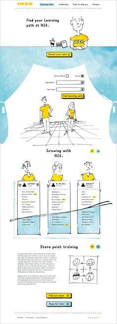 Unique Web Design, IKEA #WebDesign #Design (http://www.pinterest.com/aldenchong/)