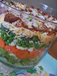 Amber's Delectable Delights: Seven Layers of Goodness