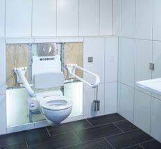 Geberit HyTronic WC Steuerungen Berührungslose Auslösung Geberit Bietet Im  öffentlichen Und Halböffentlichen Bereich Komfortable WC
