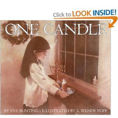 One Candle, written by Eve Bunting, Illustrated by K. Wendy Popp, and read by Grammy Field Tonight is the first night of Hanukkah and since I had this. Kwanzaa, Christmas Books, A Christmas Story, Ramadan, Eve Bunting, Holocaust Books, How To Celebrate Hanukkah, Mighty Girl
