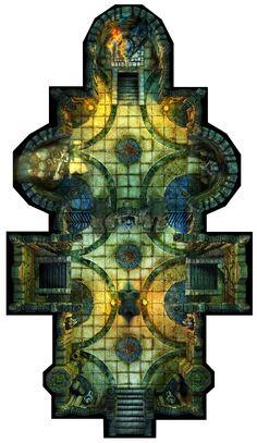 Hall of Fallen Angel - Angels Tomb