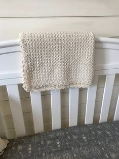 Crochet Baby Blanket PATTERN Pure and Simple Baby Blanket | Etsy