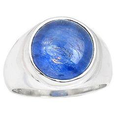 Kyanite 925 Sterling Silver Ring Jewelry s.7 KYNR890 - JJDesignerJewelry