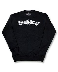 Liquor Brand Herren DEATH PROOF Pullover.Tattoo,Biker,Rockabilly,Custom Style