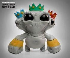 Squibbles Ink x Rotofugi x Chris Ryniak - New Triple Crown Monster announced!!!