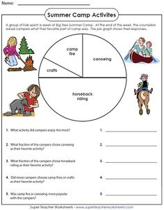 math worksheet : summer pictures and beaches on pinterest : Super Teacher Worksheets Fractions
