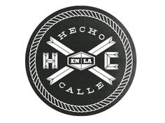 Hecho Logo Explorations by Magnificent Beard