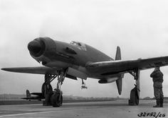 Dornier 335 having a engine test (1945)