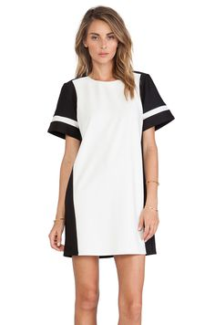 The Fifth Label From a View Dress in Ivory & Black