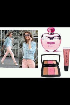 moore pink look