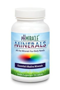 Minerals Capsules - An Alkaline Essential Minerals (90 Capsules) By pH Miracle®, Dr. Robert O Young http://www.amazon.com/dp/B00CV2MXOQ/ref=cm_sw_r_tw_dp_fBHGsb17VMET0