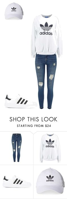 """""""Untitled #52"""" by karalynn980 on Polyvore featuring River Island, adidas Originals and adidas"""