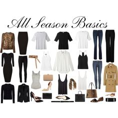 All Season Basics by charlotte-mcfarlane on Polyvore featuring Dolce&Gabbana, TIBI, Jaeger, The Row, Isabel Marant, Mulberry, STELLA McCARTNEY, J Brand, Koral and 3.1 Phillip Lim