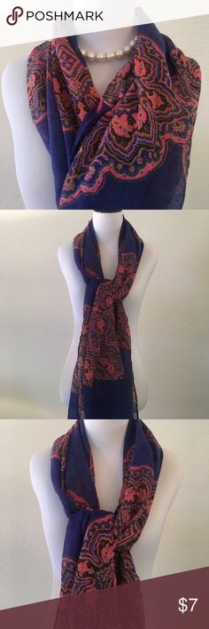 """Purple & pink 73"""" long lightweight scarf Purple & pink super light scarf! 73 """" long no brand Accessories Scarves & Wraps"""