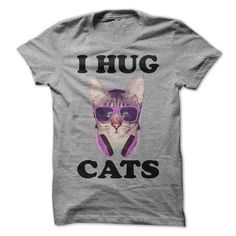 #Namest-shirt... Nice T-shirts  Worth :$21.00Purchase Now  Low cost Codes View photographs & pictures of I HUG CATS t-shirts & hoodies:When you don't completely love our design, you'll be able to SEARCH your favourite one through the use of search bar on th....