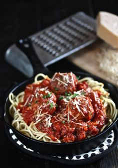 The Best Spaghetti and Meatballs | The Hopeless Housewife