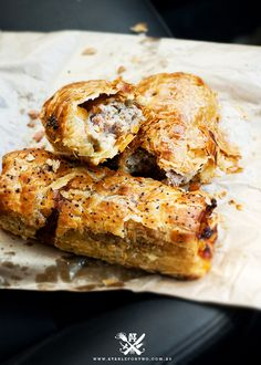 lamb, harissa & almond sausage roll.  bourke street bakery.  before i die, i will go to this place.  hopefully sooner LOL