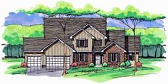 Colonial   Cottage   Country   Craftsman   European   Traditional   House Plan 42561