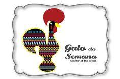 todas as quintas um Galo novo Rooster Art, Galo, Portuguese, Portugal