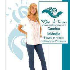 La Camisa Islandia Búscala en nuestra colección antes que termine el Verano http://www.mardeformas.com/es/14-camisa-islándia.html