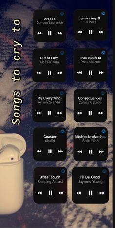Heartbreak Songs, Breakup Songs, Music Mood, Mood Songs, Playlist Names Ideas, Depressing Songs, Throwback Songs, Song Recommendations, Good Vibe Songs