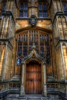 Bodleian Library Door - Oxford