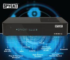 SpyCat Linux E2 Sat HDTV Receiver Sat IP USB Wifi Bluetooth 1x DVB-S2 |satking.de