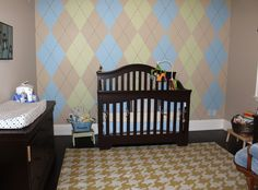 Argyle and Houndstooth and Bears – OH MY! | Project Nursery