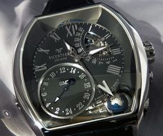 Vicenterra GMT-3 Volume 2 E ... Love the globe and GMT  dial
