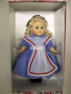 "Vogue 8"" Ginny Doll ALICE #3HP281 Unused in Original Box 2003"